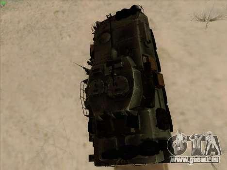 LAV-25 für GTA San Andreas Rückansicht