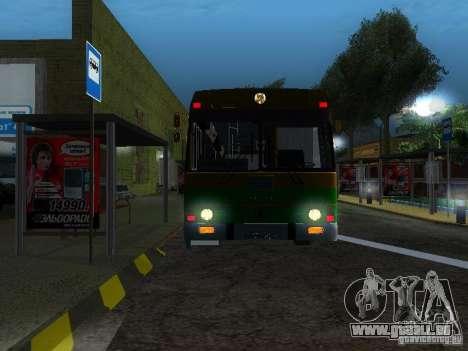LAZ-4202 für GTA San Andreas rechten Ansicht
