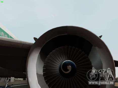 McDonell Douglas DC-10-30 Alitalia pour GTA San Andreas salon