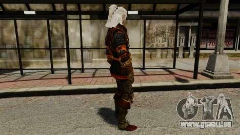 Geralt de Rivia v2 pour GTA 4 secondes d'écran