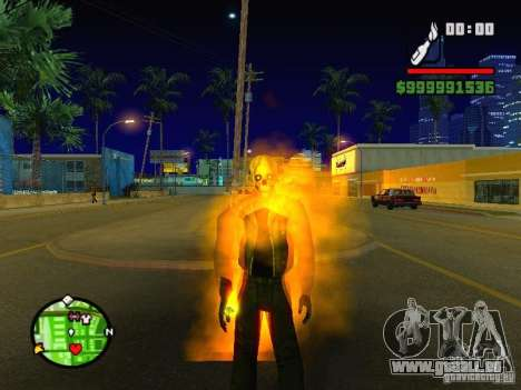 Ghost Ryder Skin pour GTA San Andreas