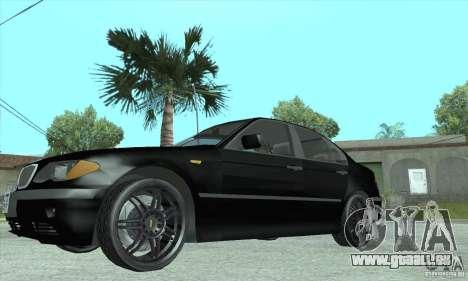 BMW 325i pour GTA San Andreas vue de droite