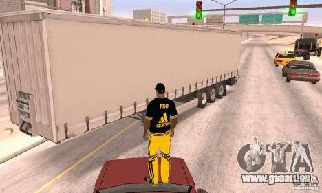 Krone Trailer pour GTA San Andreas vue de droite