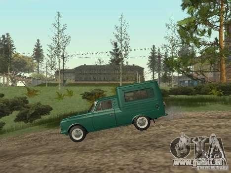 IZH 2715 pour GTA San Andreas sur la vue arrière gauche