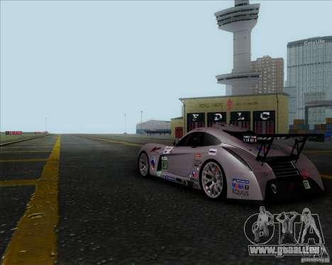 Panoz Abruzzi Le Mans V1.0 2011 pour GTA San Andreas vue de droite