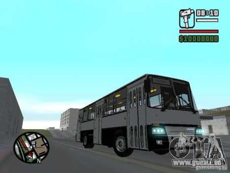 Ikarus 260.06 pour GTA San Andreas vue arrière