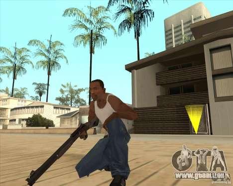 Fusil de chasse automatique pour GTA San Andreas deuxième écran