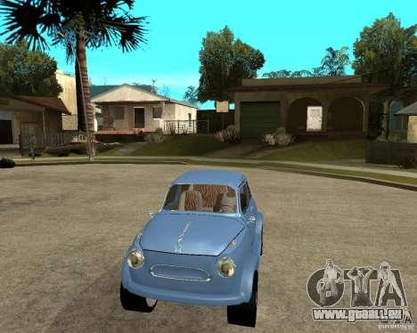 ZAZ 965 Zaporozhets HotRod für GTA San Andreas Rückansicht
