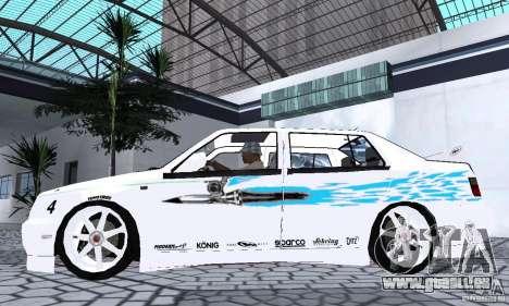 Volkswagen Jetta FnF pour GTA San Andreas sur la vue arrière gauche