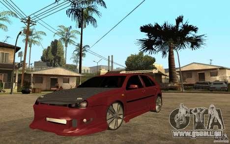 Volkswagen Golf GTI 3 Tuning für GTA San Andreas
