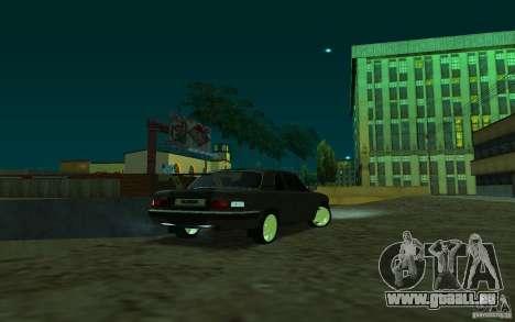 GAZ 31105 coupé pour GTA San Andreas laissé vue