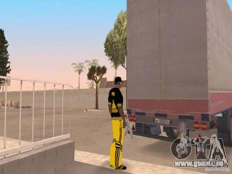 Kogel für GTA San Andreas linke Ansicht