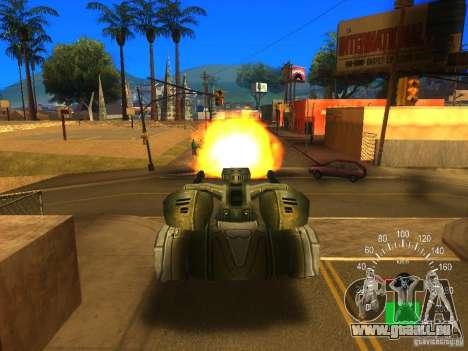 Star Wars Tank v1 für GTA San Andreas Rückansicht