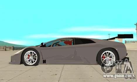 Lamborghini Murcielago R GT pour GTA San Andreas laissé vue