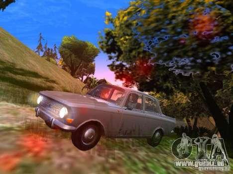 AZLK-412 pour GTA San Andreas laissé vue