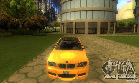 BMW 135i Coupe Custom für GTA San Andreas Innenansicht