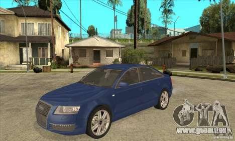 Audi S6 Limousine V1.1 pour GTA San Andreas
