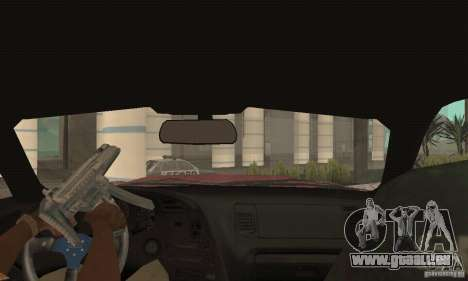 Toyota Supra Tunable 2 pour GTA San Andreas vue intérieure