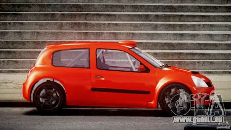 Renault Clio Sport für GTA 4 Innenansicht