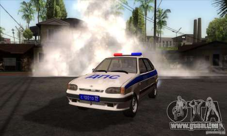 ВАЗ 2114 Police pour GTA San Andreas
