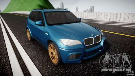 BMW X5 M-Power wheels V-spoke für GTA 4 Rückansicht