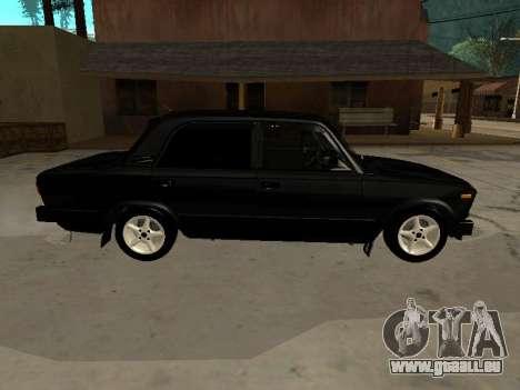21065 VAZ v2.0 pour GTA San Andreas sur la vue arrière gauche