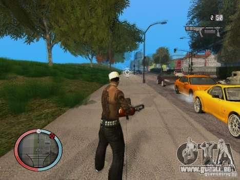 GTA IV HUD Final pour GTA San Andreas quatrième écran