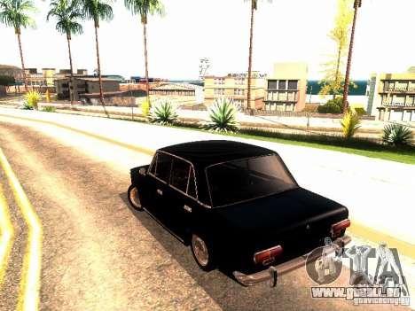 VAZ 2101 Drain für GTA San Andreas zurück linke Ansicht
