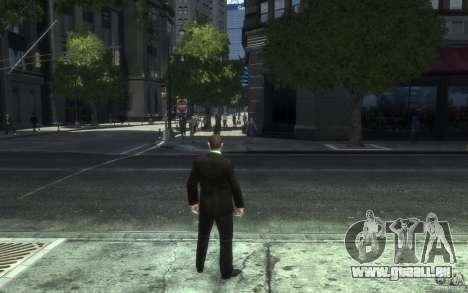 Offene Jacken mit Krawatten für GTA 4 achten Screenshot