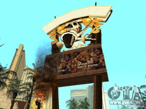 Neue Texturen für Casino Visage für GTA San Andreas zweiten Screenshot