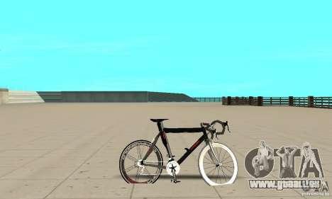 Bike Turmac Legnano pour GTA San Andreas sur la vue arrière gauche