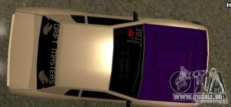 Elegy Drift Masters Final für GTA San Andreas rechten Ansicht