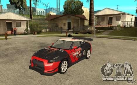 Nissan GT R Shift 2 Edition für GTA San Andreas linke Ansicht