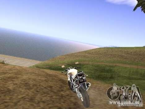 Yamaha V-Ixion pour GTA San Andreas laissé vue