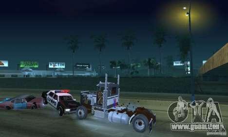 Peterbilt 289 pour GTA San Andreas vue de côté