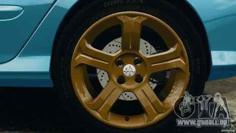 Peugeot 308 GTi 2011 v1.1 pour GTA 4 est une vue de dessous