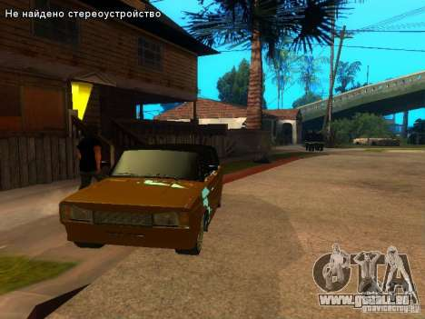 VAZ 2104 tuning pour GTA San Andreas vue de droite