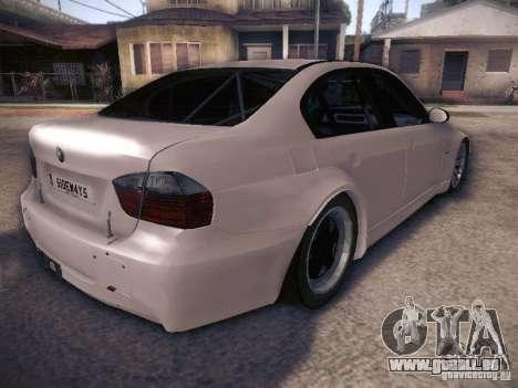 BMW 320SI Drift für GTA San Andreas Rückansicht