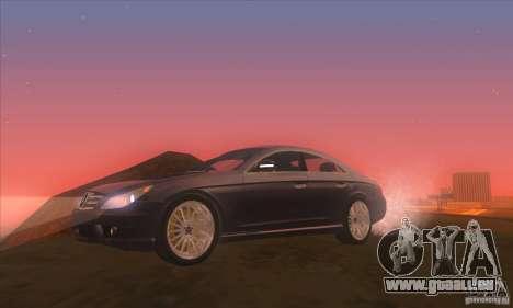 Mercedes-Benz CLS AMG pour GTA San Andreas vue arrière