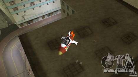 V&V Sparrow pour GTA Vice City sur la vue arrière gauche