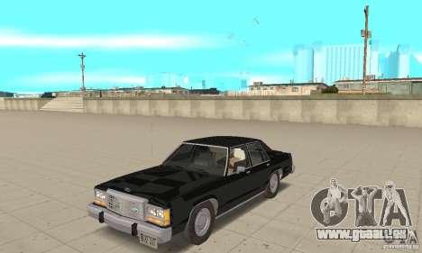 Ford LTD Crown Victoria 1985 MIB pour GTA San Andreas