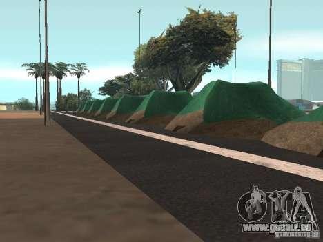 Drift track and stund map pour GTA San Andreas troisième écran
