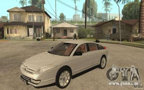 Citroen C6 für GTA San Andreas