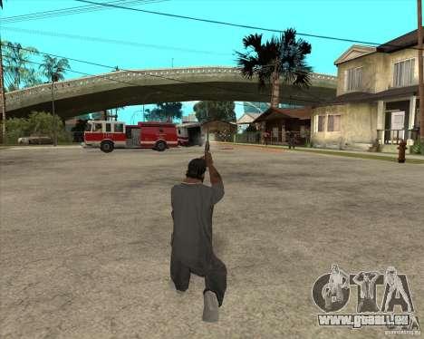 Smith Wesson HD + animation für GTA San Andreas her Screenshot