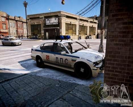 Russian Police Patrol für GTA 4 Rückansicht