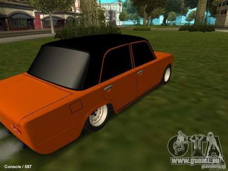 VAZ 2101 Hobo pour GTA San Andreas vue intérieure