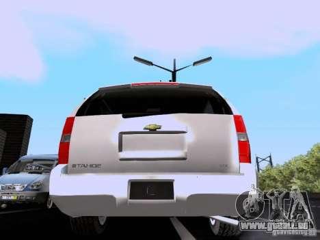 Chevrolet Tahoe LTZ 2013 für GTA San Andreas rechten Ansicht