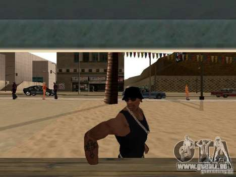 Markt am Strand für GTA San Andreas her Screenshot