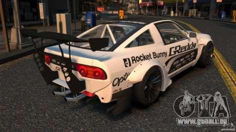 Nissan 380SX BenSopra RIV pour GTA 4 Vue arrière de la gauche