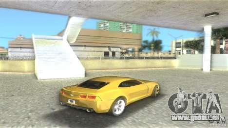 Chevrolet Camaro für GTA Vice City rechten Ansicht